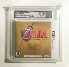 ZELDA -OCARINA OF TIME 3D VGA 90+ GOLD BRAND NEW AND FACTORY SEALED NINTENDO 3DS