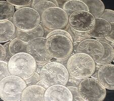 10 Coins LOT 1964 JAWAHARLAL NEHRU English Legend  50 Paise Commemorative india