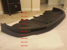 Carbon Fiber Front Lip Diffuser with Brake Duct Matte For 2012 2013 GTR R35