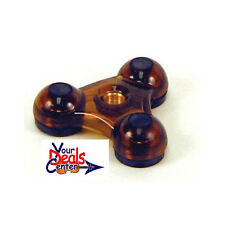 Viva La Cello Endpin Rest Endpin Stop --YELLOW/AMBER
