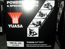 Batteria Yuasa YB14L-A2 ETX TUAREG ATLANTIC SCARABEO MOTO BMW C1 CAGIVA ELEFANT