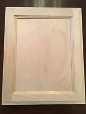 """Natural Birch Flat Panel 13"""" X 16"""" Unfinished Stain Grade Cabinet Door (A GRADE)"""