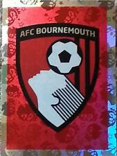 5 BOURNEMOUTH badge shiny 2016/2017 Topps Merlin Premier League sticker