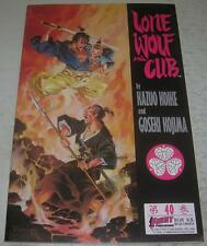 LONE WOLF AND CUB #40 (First Comics 1990) Mike Ploog cover (FN/VF) RARE