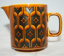Vintage Hornsea Heirloom Creamer England 1973 Retro Mid Century Brown AS-IS