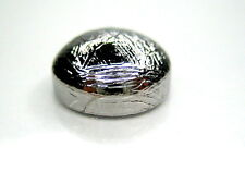10 x 10 mm GIBEON IRON METEORITE CABOCHON - solid