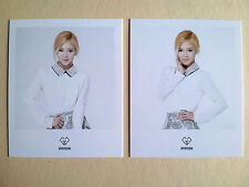 SNSD Girls' Generation Coex POLAROID CARD SM OFFICIAL GOODS  - Hyoyeon (2pcs)
