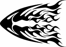 Hood Decals Racing Flames Vehicle Car Truck Go Kart Boat Graphics Stickers 30""