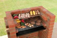 Costruita IN MATTONI PER BARBECUE FAI DA TE KIT + CHROME GRILL BLACK KNIGHT BARBECUE bkb101 67 x 39cm