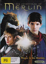 The Adventures Of Merlin - Magic is his destiny - DVD 4xDVD R4 Brand New Sealed