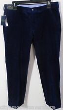 NWT Polo Ralph Lauren Mens Classic Fit Corduroy Pants 34x30 Navy MSRP$98