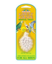 Bird Mineral Stone Calcium Source with Grape Flavor for Finch Canary Budgie