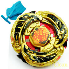 L-Drago Destructor (Destroy) Gold Armored Beyblade metal masters w/Launcher