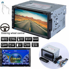 7Inch Double 2DIN In Dash Car Stereo CD DVD Player SD USB Bluetooth FM Radio