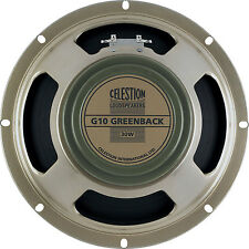 "Celestion G10 Greenback 10"" 16 Ohm Guitar Speaker 30W"