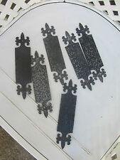 """6 anciennes plaques propreté fer forgé étiquette grand magasin """"le printemps"""""""
