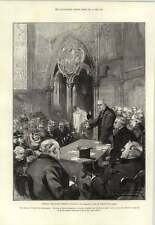 1893 Unveiling Lowell Memorial Window Chapterhouse Westminster Abbey