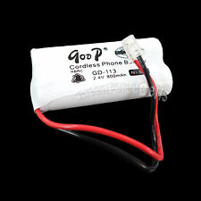 Cordless Phone Replacement Battery GD-113 113 800mAh 2.4V