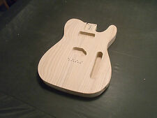 TELE BODY WHITE ASH P90 x S  UNFINISHED