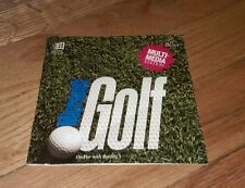 Microsoft Golf: Multimedia Edition PC 1993 Sports Video Game Computer Software
