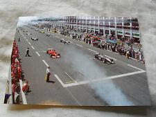 Fórmula 1 Foto Tarjeta - 2000 Magny Cours Francés Grand Prix-Ferrari McLaren