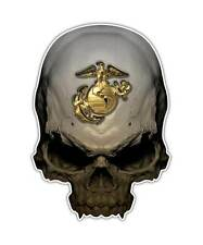 2 Marines Skull Decal - Marine Soldier Sticker Semper Fi Graphic ipad decals