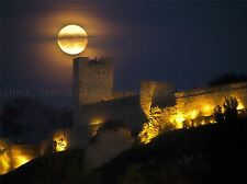 FULL MOON BELGRADE SERBIA CASTLE NIGHT ART PRINT POSTER PICTURE BMP451A