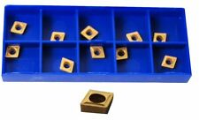 SET OF 10 CARBIDE INSERTS CCMT060204 GLANZE ETC