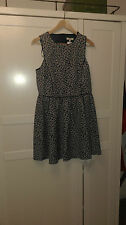 BNWT New Look funky retro vintage 50's designer style dress cut out back Size 14