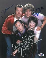 LAVERNE AND SHIRLEY CAST REPRINT AUTOGRAPHED SIGNED PICTURE PHOTO COLLECTIBLE RP