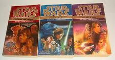 STAR WARS THE BLACK FLEET CRISIS TRILOGY USED PAPERBACK BOOK LOT KUBE-MCDOWELL
