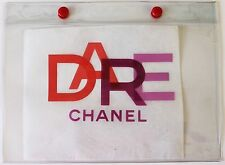 CHANEL DARE CLEAR BAG MAKEUP COSMETIC STORAGE VIP GIFT RARE