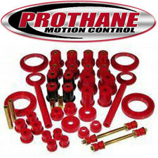 Prothane 6-2025 1999-2004 Ford Mustang Total Suspension Bushing Kit Red Poly