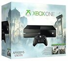 NEW Microsoft Xbox One Assassin's Creed Unity Bundle 500GB Black Console