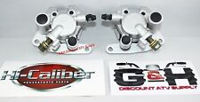 2004-2007 Yamaha YXR 660 Rhino Front Left & Right Brake Calipers & Pads +Decals