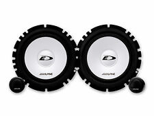 "ALPINE SXE 1750S 280 WATT 6.5"" (17cm) COMPONENT 2 WAY SPEAKERS"