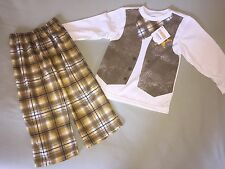 NWT GYMBOREE SZ 2T PAJAMA SET COWBOY SHERIFF SO CUTE!