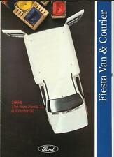 FORD FIESTA 35 AND COURIER 50 SALES BROCHURE 1994