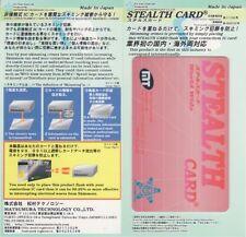 * TESSERA STEALTH / RFID PROTECTOR / Blocker per senza contatto CR DR, anti-scam / rasentando