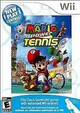 Mario Power Tennis USED SEALED NINTENDO Wii & Wii U **FREE SHIPPING!!