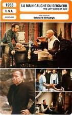 FICHE CINEMA : LA MAIN GAUCHE DU SEIGNEUR - Bogart,Tierney 1955 Left Hand Of God