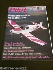 PILOT MAGAZINE - SUPER CESSNA 180 FLOATPLANE - JULY 2000 VOL 34 #7