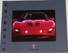 2002 02 Pontiac Firebird TA Trans Am TransAm Original sales  brochure MINT
