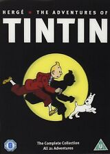 THE ADVENTURES OF TINTIN -THE COMPLETE COLLECTION *BRAND NEW DVD*