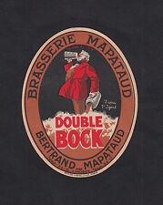 Ancienne étiquette Bière Alcool France Brasserie Mapataud Bock  Limoges BN10286