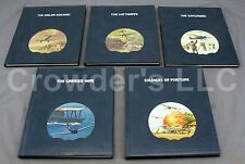 Set of 5 The Epic of Flight Time-Life Books War Aviation Airplanes