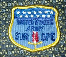 """UNITED STATES ARMY EUROPE Patch 2"""""""