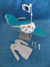 Dentist Barbie Doll * Dentist Coat, Dental Chair & Accessories Only * Diorama