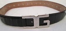 - AUTHENTIQUE    ceinture DOLCE & GABBANA cuir  TBEG  vintage