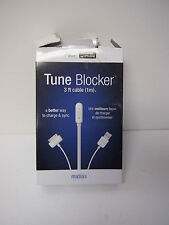 """Tune Blocker iPod & iPhone Cable """"A Better Way to Sync and Charge"""""""